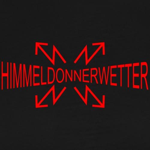 Himmeldonnerwetter - Männer Premium T-Shirt
