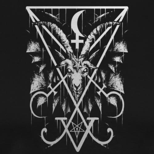 Sigil of Lucifer - Herre premium T-shirt