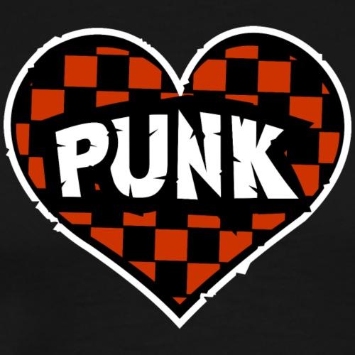 I LOVE PUNK - Koszulka męska Premium