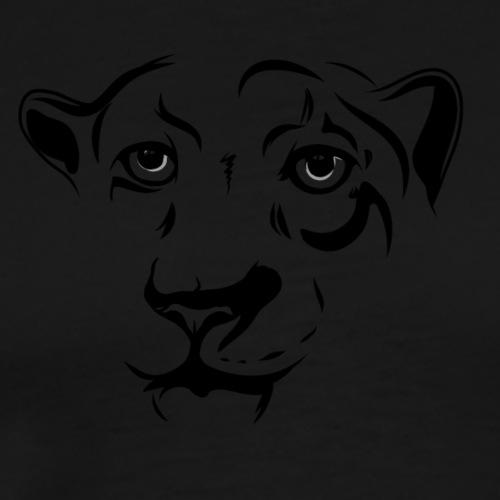 Leopardo - Camiseta premium hombre