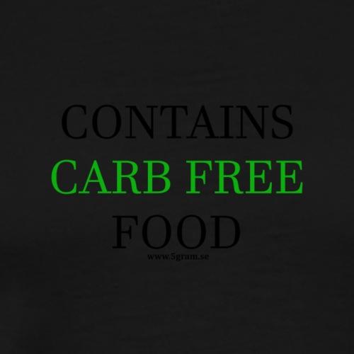 CARB FREE GREEN - Premium-T-shirt herr