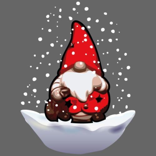 Santa Claus im Schnee - Männer Premium T-Shirt