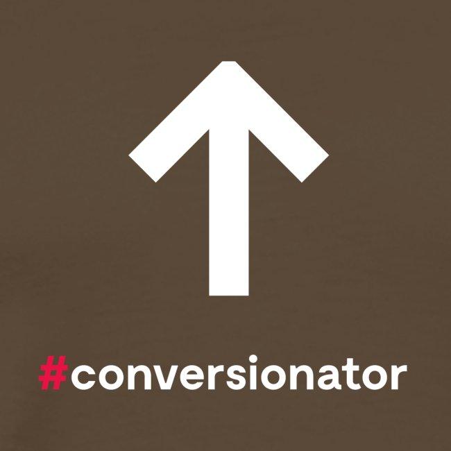 Conversionator mit Pfeil ohne Kreis