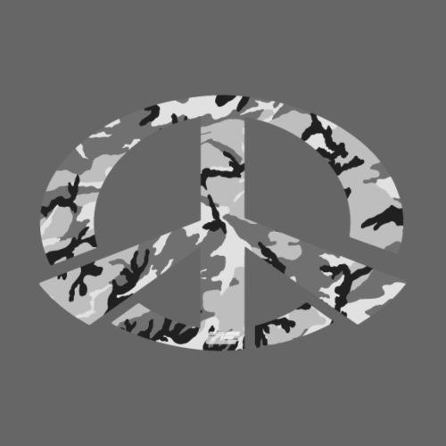 Peace - Snow Camo Edition - Männer Premium T-Shirt