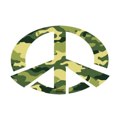 Peace - Camo Edition - Männer Premium T-Shirt