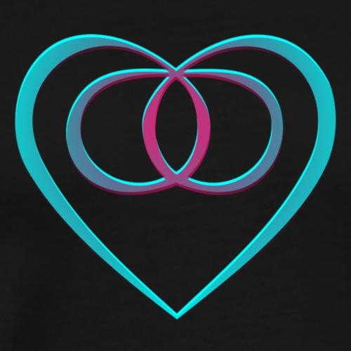Eternal Love Symbol - Camiseta premium hombre