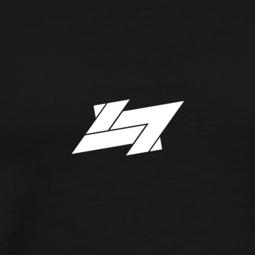 A bomb logo - Mannen Premium T-shirt
