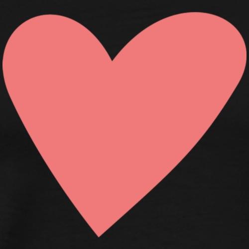 Popup Weddings Heart - Men's Premium T-Shirt