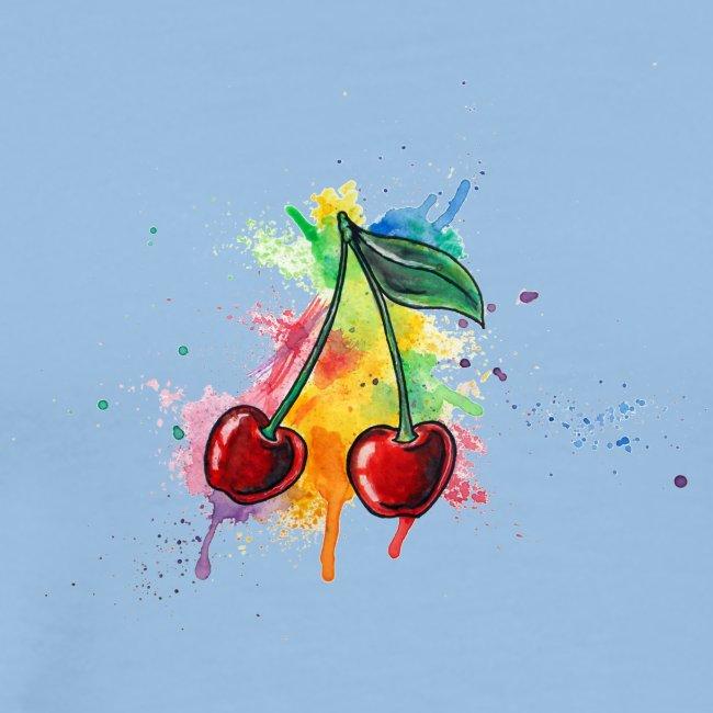 Cherries Watercolors Nadia Luongo