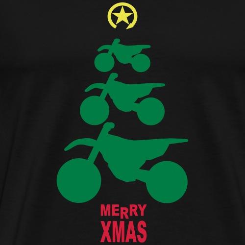Merry Christmas - Frohe Weihnachten - Koszulka męska Premium