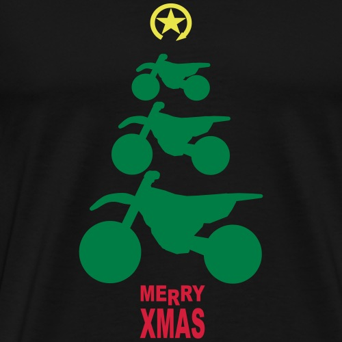 Merry Christmas - Frohe Weihnachten - Men's Premium T-Shirt