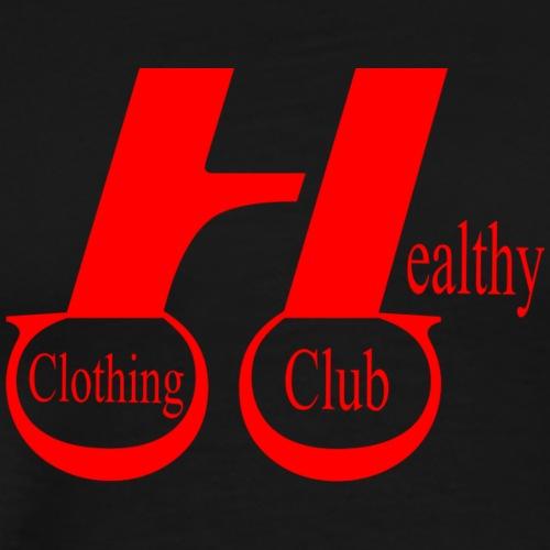Health clothing club red - Men's Premium T-Shirt