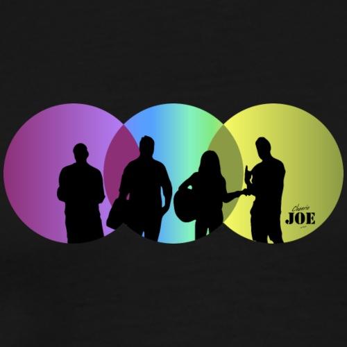 Motiv Cheerio Joe funky rasta - Männer Premium T-Shirt