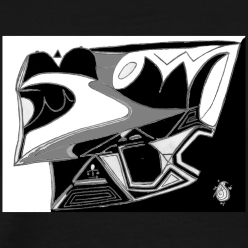 Digital Abstract Illustration DAI 06 - Men's Premium T-Shirt