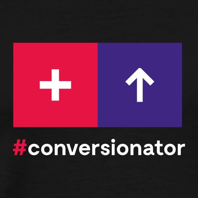 Conversionator mit Plus & Pfeil
