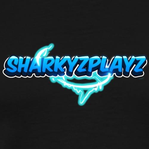 SharkyzPlayz Logo - Mannen Premium T-shirt