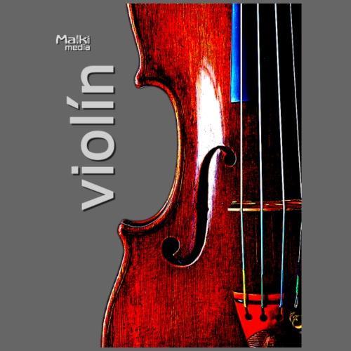 Geige i - Männer Premium T-Shirt
