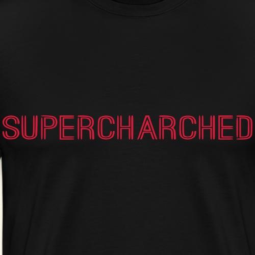 SUPERCHARCHED Schriftzug - Männer Premium T-Shirt