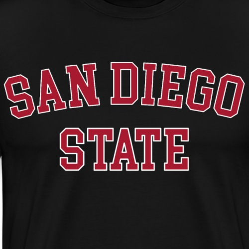 SDSU San Diego State University - Männer Premium T-Shirt