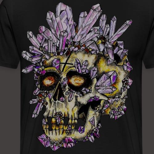 Le Crane de Cristal Creepy - T-shirt Premium Homme
