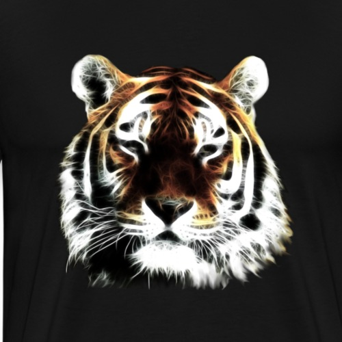El poderoso tigre. - Camiseta premium hombre