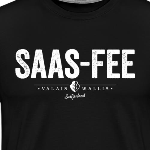 SAAS-FEE - Männer Premium T-Shirt