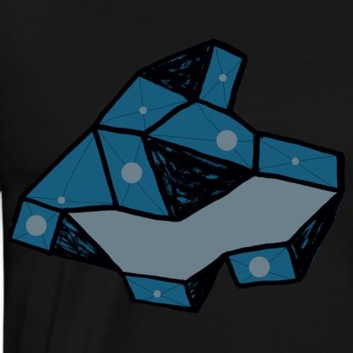 dot rock - Mannen Premium T-shirt