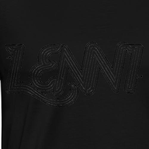Lenni transparent - Miesten premium t-paita