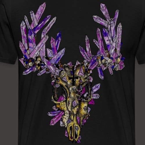 Le Cerf de Cristal Creepy - T-shirt Premium Homme