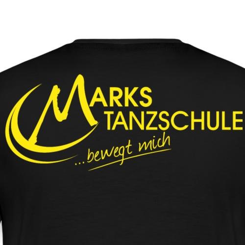Marks Tanzschule Gelb - Männer Premium T-Shirt
