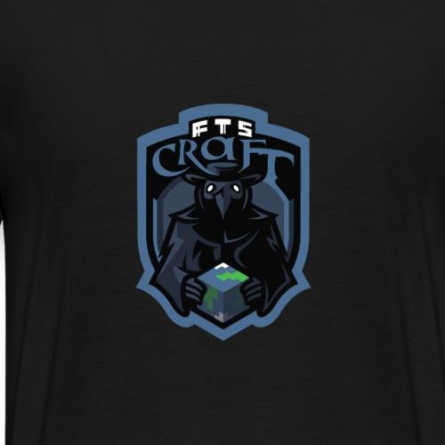 FTS Logo Blau - Männer Premium T-Shirt