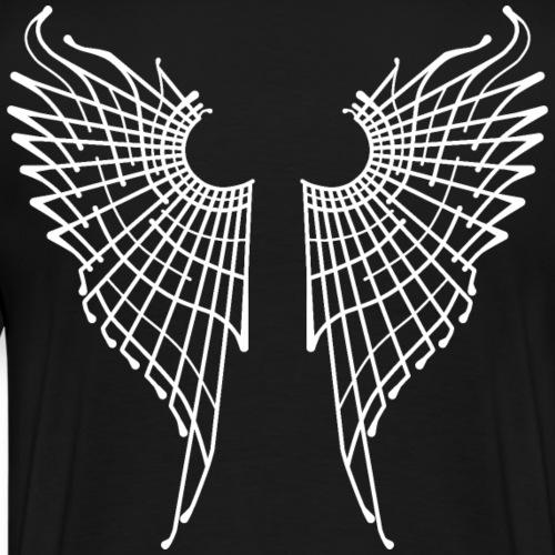 Alas de mariposa - Blanco - Camiseta premium hombre