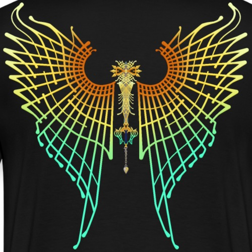Ultima weapon wings - KH1 version - Camiseta premium hombre