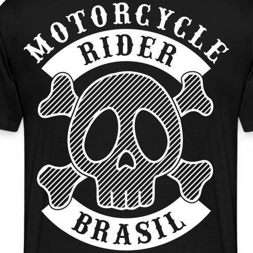 Motorcycle Rider Brasil - T-shirt Premium Homme