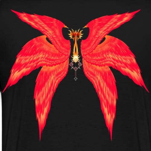 Flame Liberator/Keyblade de Lea wings - Camiseta premium hombre