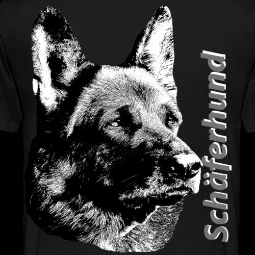 Schäferhund,Hundekopf,Hundesport,Wachhund,Hunde - Männer Premium T-Shirt