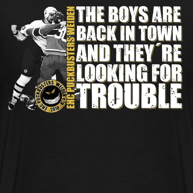 boysareback PUCKBUSTERS Shirt