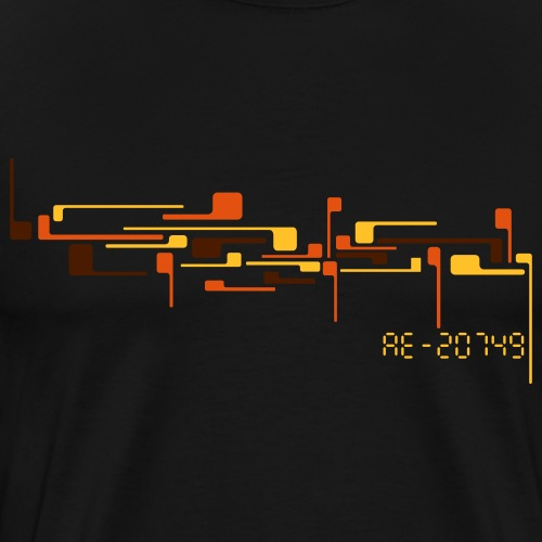 digital_1 - Männer Premium T-Shirt