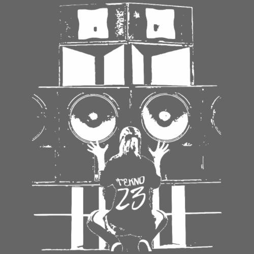 Système audio Tekno 23 - T-shirt Premium Homme