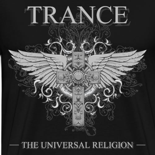 trance religion - Men's Premium T-Shirt