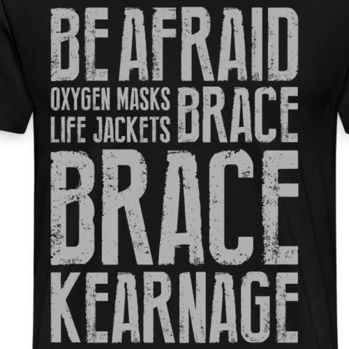 bracebrace - Men's Premium T-Shirt