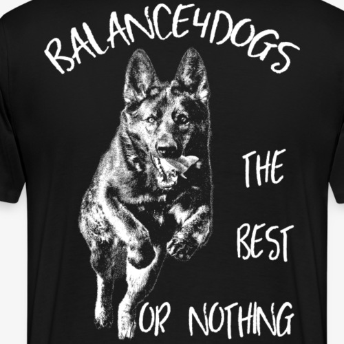 B4D the best or nothing - Men's Premium T-Shirt
