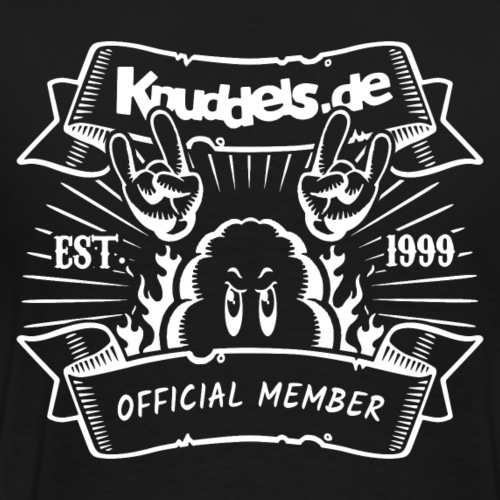 Knuddels Club Colors - Männer Premium T-Shirt