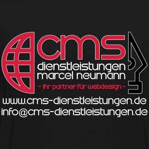 CMS Dienstleistungen Marcel Neumann - Männer Premium T-Shirt