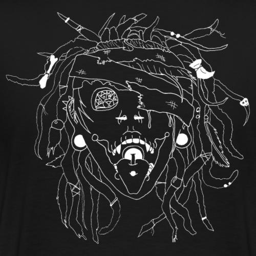 Voodo Schamanin - Männer Premium T-Shirt