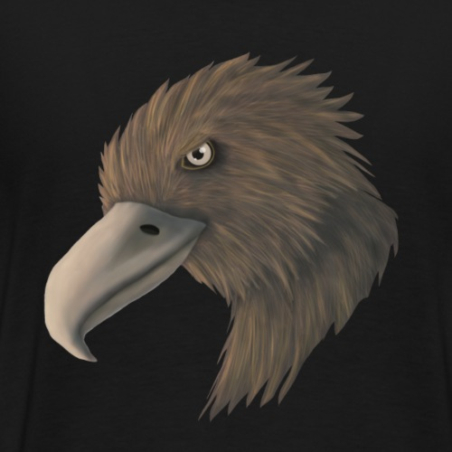 Digital Art Adler Design - Männer Premium T-Shirt