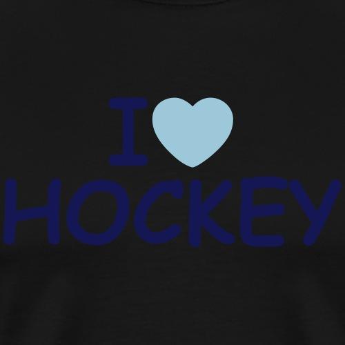 I Love Hockey - Men's Premium T-Shirt