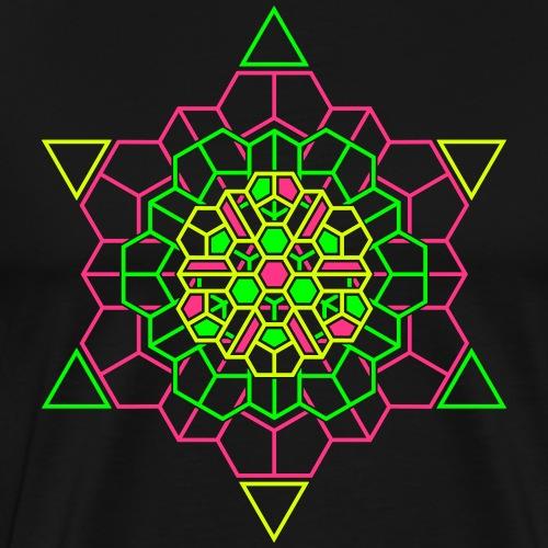 Cosmic Crystal Front - Men's Premium T-Shirt
