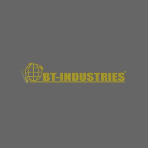 BT Schriftzug Gold - Männer Premium T-Shirt