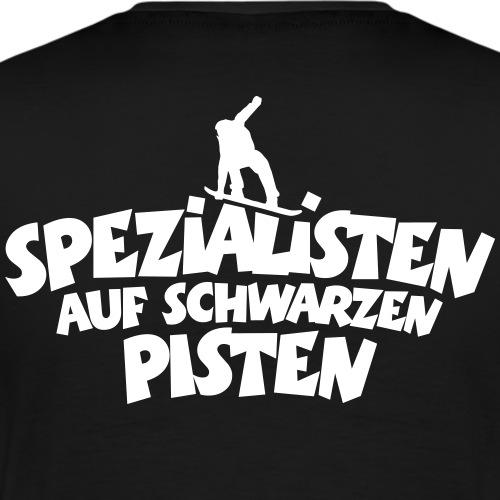Spezialisten auf schwarzen Pisten (Snowboard) - Männer Premium T-Shirt
